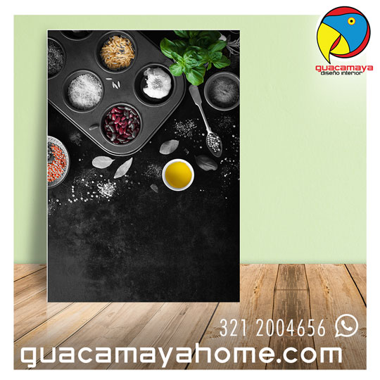 Cuadros decorativos fotografía cocina