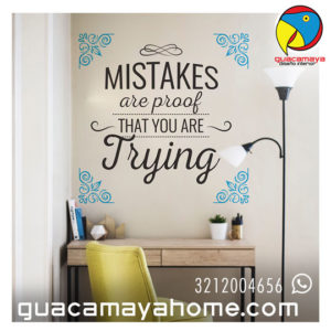 Stickers Vinilos decorativos frases 03