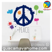 Stickers Vinilos Decoración Peace Paz