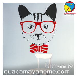 Stickers Vinilos Decoración Gato Pop