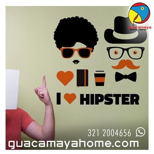 Stickers Vinilos Decoración Hipster