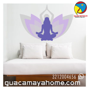 Vinilo Sticker Yoga 02