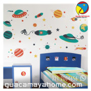 Sticker Vinilo Espacio Space