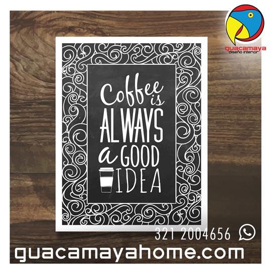 Cuadros Stickers Vinilos Decoración Coffee
