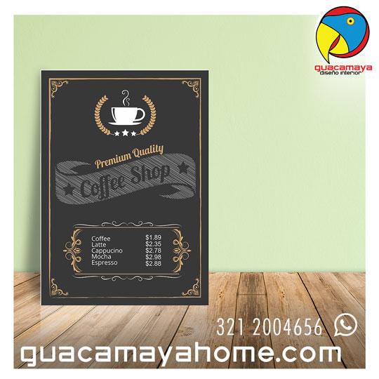 Stickers Vinilos Decoración Café Cuadro