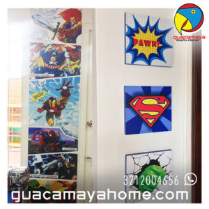 Stickers Vinilos Decoración Comics Superheroes